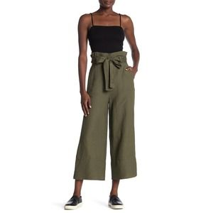 NWT Blank NYC Button Fly High Rise Straight Pant